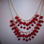 Ruby Jade Bibb Necklace