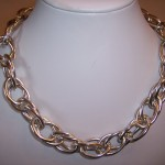 Double Loop Collar Necklace