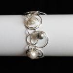 Swarovski Crystal Pearls Loop D' Loop Bracelet