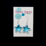Light Blue Swarovski Crystal Starfish