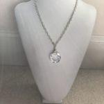 Clear AB Swarovski Crystal Ring on Sterling