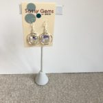 AB Swarovski Crystal Hoop Earrings