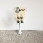 Turquoise Double Orbit Earrings