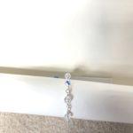 Clear AB Swarovski Crystal Tie Wire Bracelet