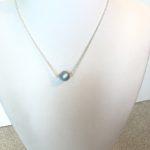 Single Swarovski Crystal Pearl Necklace